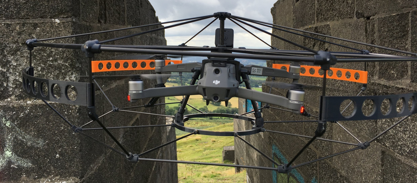 DRONE CAGE - PROVIDING PROTECTION FOR BOTH YOUR INVESTMENT AND THE ENVIRONMENT AROUND IT