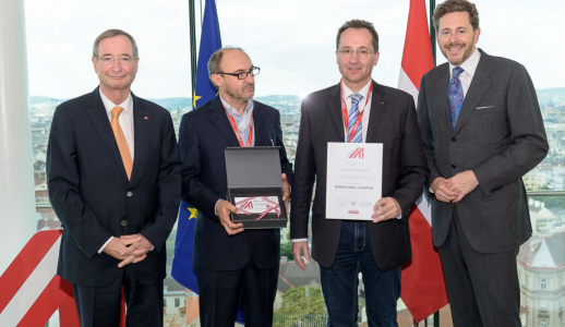 imageAlt>                                                                         </a>                                                                                                 <h2>Aero Enterprise Gmbh Receives Two Awards For Its Innovative Concepts For The Inspection Of Wind Turbines</h2>                                 <h5>Linz, 11th July 2017. The Austrian start-up company Aero Enterprise was awa...</h5>                                 <a class=