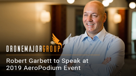 "Robert Garbett Named ""Expert Speaker"" For 2019 AeroPodium Event"