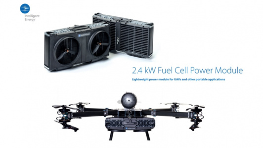 Intelligent Energy leads UAV fuel cell power market with launch of 2.4kW module