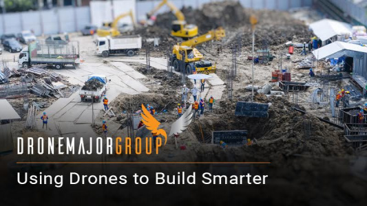 drones can be used at various levels in construction from security to surveillance