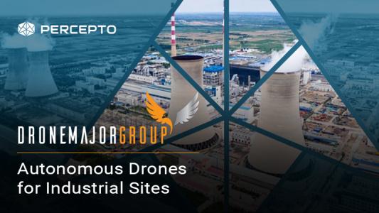 AUTONOMOUS DRONES FOR INDUSTRIAL SITES