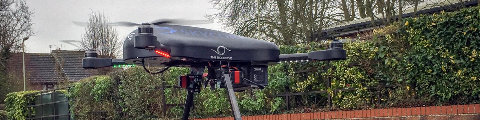 A SKYCORP announcement - e-Drone Zero - 2019 Deliveries