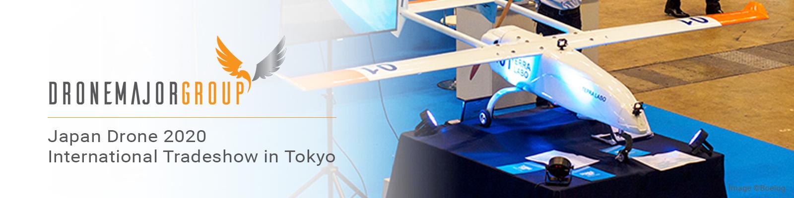 JAPAN DRONE 2020 (International Tradeshow in Tokyo)