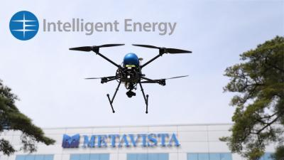 MetaVista breaks Guinness World Record of multi rotor UAV flight time using Intelligent Energy Fuel Cell Power Module