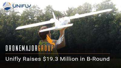 b-round funding global drone traffic leader UTM success funding