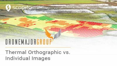 Thermal orthographic vs individual images