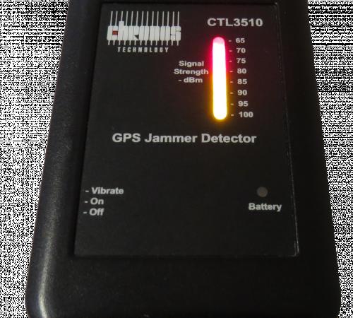 CTL3510 GPS Jammer Detector
