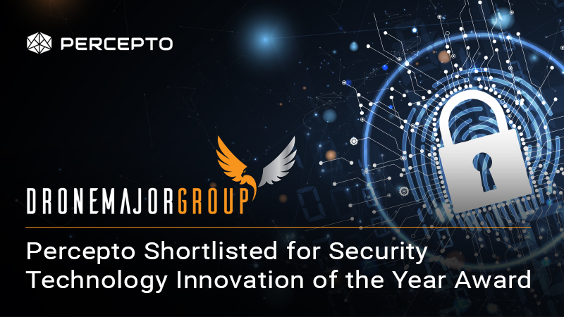 Percepto Autonomous Drone-in-a-Box Shortlisted for Prestigious Security Technology Innovation of the Year Award