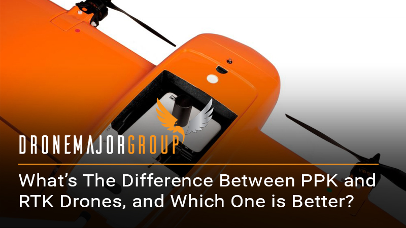 What's the difference between PPK and RTK drones, and which one is better?